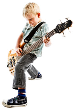 Kid on Bass!