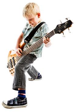 Kid on Bass!